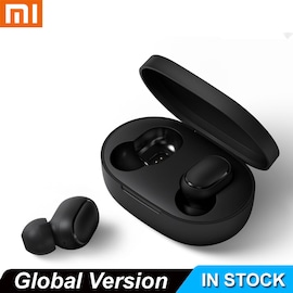 Xiaomi Redmi Airdots Xiaomi Wireless Earphone Voice Control Bluetooth 5.0 Noise Reduction Tap Control As shown