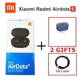 Xiaomi Redmi Wireless Airdots S with Mic AI Control Noise Reduction Dark Blue