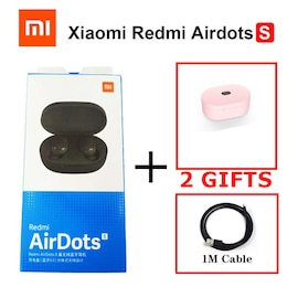 Xiaomi Redmi Wireless Airdots S with Mic AI Control Noise Reduction Pink