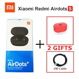 Xiaomi Redmi Wireless Airdots S with Mic AI Control Noise Reduction Red