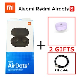 Xiaomi Redmi Wireless Airdots S with Mic AI Control Noise Reduction Ultraviolet