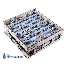 Zombicide Black Plague (base game or with Wulfsburg expansion) Organizer Insert