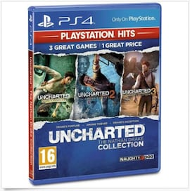 PS4 Uncharted The Nathan Drake Collection - Playstation Hits | Physical Copy |  (PS4)