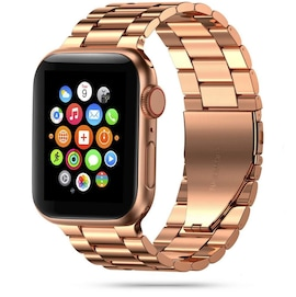 TECH-PROTECT STAINLESS APPLE WATCH 2/3/4/5/6/SE (42/44MM) ROSE GOLD
