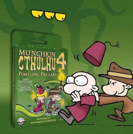 Black Monk Gra Munchkin Cthulhu 4 - Pomylone Pieczary