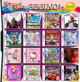 356 In 1 Video Game Cartridge Compilation Card For Nintendo DS 3DS 2DS Console Nintendo 3DS