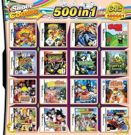 500 in 1 Video Game Cartridge Compilation Card For DS 2DS 3DS NDSL NDSI Console Nintendo 3DS