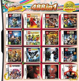 488 in 1 Video Game Cartridge Compilation Card For DS 2DS 3DS NDSL NDSI Console Nintendo 3DS