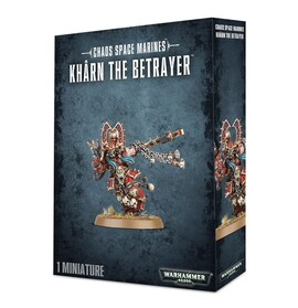 Chaos Space Marines World Eaters Khârn the Betrayer