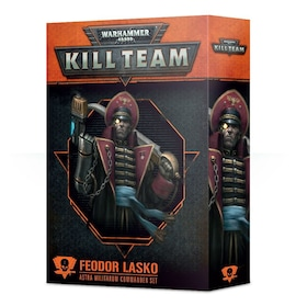 Kill Team: Feodor Lasko Astra Militarum Commander Set
