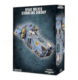 Space Wolves Stormfang/Stormwolf Gunship