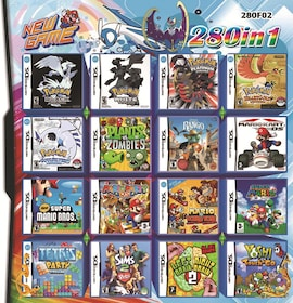 280 in 1 Video Game Card Cartridge for Nintendo NDS NDSL NDSI 2DS 3DS Nintendo 3DS