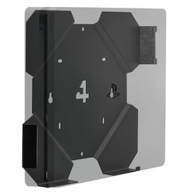 4MOUNT WALL MOUNT FOR PS4 PLAYSTATION SLIM - HOLDER - BRACKET - GRIP - STAND  Black