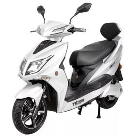 Hecht Equis White Skuter Elektryczny Akumulatorowy E-Skuter Motor Motocross Motorek Motocykl