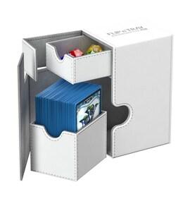 Ultimate Guard Deck Case Flip'n'Tray 80+ Standard XenoSkin Biały