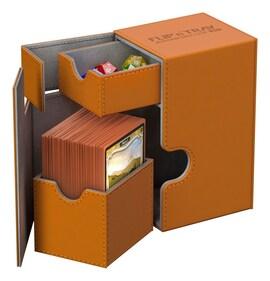 Ultimate Guard Deck Case Flip'n'Tray 80+ Standard XenoSkin Pomarańczowe