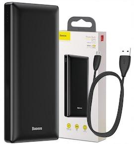 BASEUS POWER BANK USB USB-C MICRO PD 3A 20000mAh