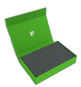 Feldherr - Magnetyczne pudełko na figurki z gąbką modularną (Zielone)