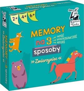 Kapitan Nauka - Memory na 3 Sposoby - Zwierzyniec