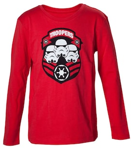 Star Wars - Troopers Red Shirt Red 110-116 cm