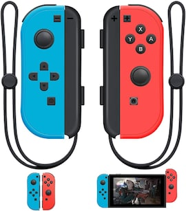 Bluetooth Gamepad For Nintend Switch Joy-Con (L/R) Controller for Switch Wireless Joysticks Strap Multi-Color