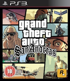 Grand Theft Auto San Andreas PS3 Hard copy Brand new & Sealed PS3 Gaming