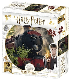 Harry Potter: Magiczne puzzle - Hogwart Express (500 elementów)