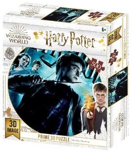 Harry Potter: Magiczne puzzle - Harry (500 elementów)