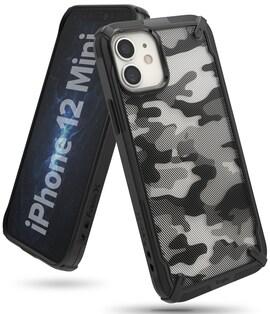 Etui Ringke Fusion-X Design Apple iPhone 12 mini Camo (Moro) Black