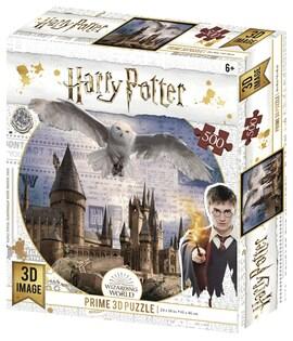 Harry Potter: Magiczne puzzle - Hedwiga w locie (500 elementów)