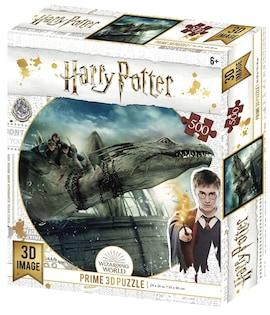Harry Potter: Magiczne puzzle - Ucieczka z Gringotta (500 elementów)