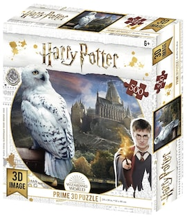 Harry Potter: Magiczne puzzle - Hedwiga (500 elementów)