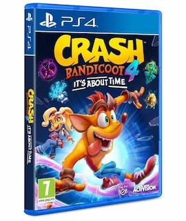Crash Bandicoot 4: It's About Time PS4 Hard copy Brand New & Sealed PS4 Gaming