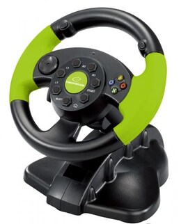 Kierownica Esperanza Eg104 High Octane Xbox 360 Edition Do Pc/Ps1/Ps2/Ps3