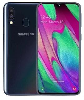 Smartphone SAMSUNG Galaxy A40 64 GB Dual Sim Enterprise Edition Czarny 64 GB Czarny SM-A405FZKDE33