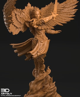 Archangel collectible miniature 54mm No