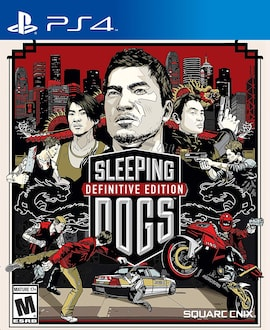 PS4 Sleeping Dogs Definitive Edition - R2 Physical