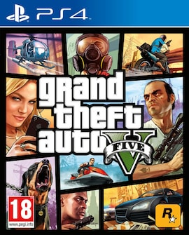 PS4 Grand Theft Auto V / GTA V (R3/ENG/CHI) Physical