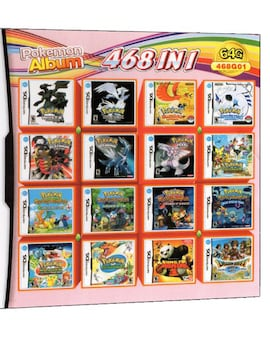 468 in 1 Video Game Cartridge Compilation Card For DS 2DS 3DS NDSL NDSI Console Nintendo 3DS