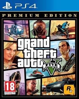Grand Theft Auto V: Premium Edition - PS4 - HARDCOPY - BRAND NEW & SEALED Premium Edition PS4 Gaming