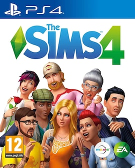 PS4 The Sims 4 (ENG) Physical