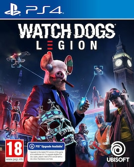Watch Dogs Legion - PS4 - Hardcopy - Brand new & Sealed (PS4, PS5) Gaming