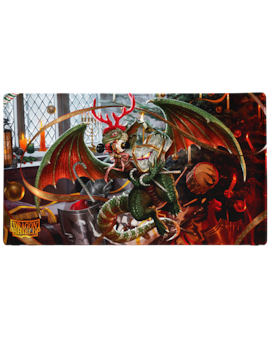 Dragon Shield - Playmat - Christmas Dragon 2020