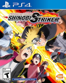 PS4 NARUTO TO BORUTO SHINOBI STRIKER - R3 Physical