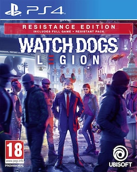 Watch Dogs Legion Resistance Edition  - PS4 - Hardcopy - Brand new & Sealed (PS4, PS5) Gaming
