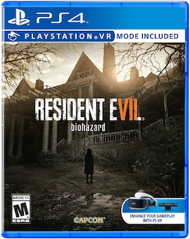 PS4 Resident Evil 7 Biohazard (R2 ENG) Physical