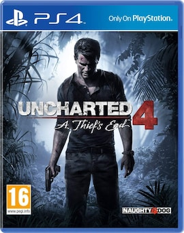 PS4 Uncharted 4: A Thief's End (Physical)
