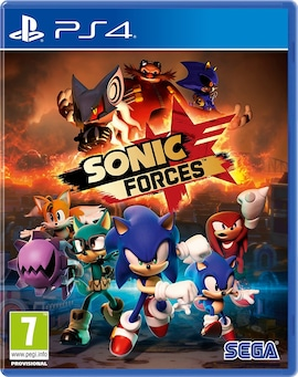 Sonic Forces PS4 Brand new & Sealed hardcopy PS4 Gaming