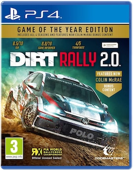 Dirt Rally 2.0 - Game of the year PS4 Hard copy Brand new & Sealed PS4 Gaming