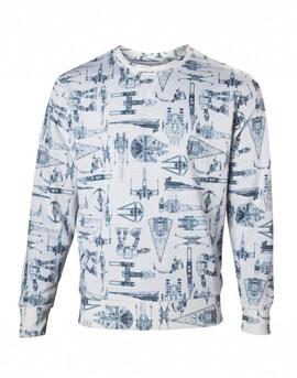 Star Wars - Sublimated sweater Multi-colour XL